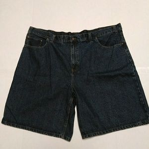 LADIES DARK WASH SHORTS by FADED GLORY  / SZ 46